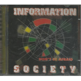 Cd   Information Society   Don t Be Afraid   Lacrado