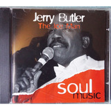 Cd - Jerry Butler - The Ice Man - Serie Soul Music