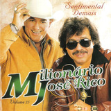 Cd   Milionário & José Rico Vol 25 Sentimental Demais