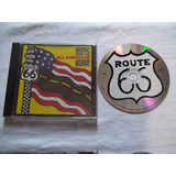 Cd - Music From The All American Highway - Coletanea Rock