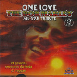 Cd   One Love The Bob Marley All star Tribute   Duplo