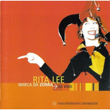 Cd   Rita Lee: A Marca Da Zorra Ao Vivo