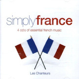 Cd   Simply France = Chevalier Brassens Piaf Montand Trenet