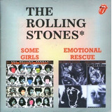 Cd / The Rolling Stones (2em1) Some Girls / Emotional Rescue