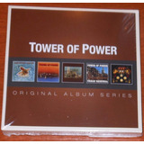 Cd   Tower Of Power   Box 5 Cds Original Albums