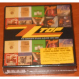 Cd   Zz Top   Box 10 Cds   Complete Studio Albums 1970 1990