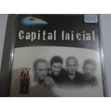 Cd  Capital Inicial Millennium  20 Musicas Do Seculo