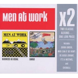 Cd  Men At Work Business As Usual cargo 2 Cds
