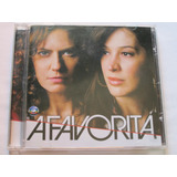 Cd  Novela A Favorita Nacional  2008