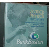 Cd  Zander  Conduz  Mahler   Bank Boston    Frete Gratis