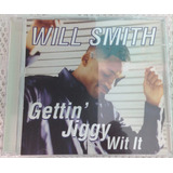 Cd  single will Smith   Gettin Jiggy Wit It novo   Importado