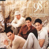 Cd 98 Degrees My Everything Maxi Single X 4    Australia