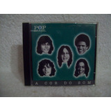 Cd A Cor Do Som  Pop Brasil