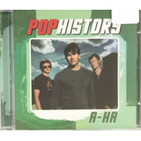 Cd A ha   Pop History Greatest Hits  original E Lacrado