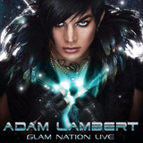 Cd Adam Lambert   Glam Nation Live  cd dvd