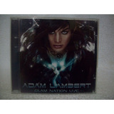 Cd Adam Lambert  Glam Nation Live
