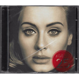 Cd Adele 25 Novo Original Lacrado