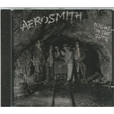 Cd Aerosmith   Night In The Ruts  usado otimo