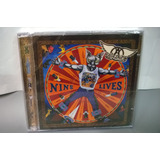 Cd Aerosmith   Nine Lives    Lacrado