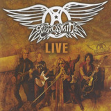 Cd Aerosmith Live 16 Sucessos Original