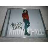 Cd Alessia Cara Know It All 2016 Br