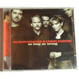 Cd Alison Krauss & Union Station So Long So Wrong Grammy Win
