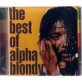 Cd Alpha Blondy   Best Of  novo lacrado   usado otimo