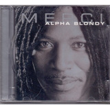 Cd Alpha Blondy   Merci   Novo