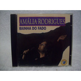 Cd Amália Rodrigues  Rainha Do Fado