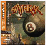 Cd Anthrax Volume 8 The Threat Is Real  japão