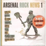 Cd Arsenal Rock News 1   Cpm 22  Nx Zero  Ira