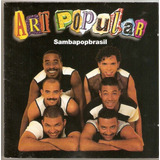 Cd Art Popular   Sambapopbrasil   Novo