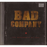 Cd Bad Company   In Concert: Merchants Of Cool   Cd  1810