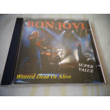 Cd Bon Jovi   Wanted Dead Or Alive