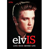 Cd Box Elvis Presley  Love   Rock   Movies  4 Cd s  989891