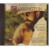 Cd Carrington   Michael Nyman   Raríssimo