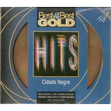 Cd Cidade Negra   Best Of The Best Gold Hits   Novo