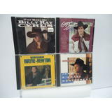 Cd Country George Straits/billy Ray Cyrus 4 Cds