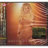 Cd Duplo Britney Spears   Glory Japan Tour Edition