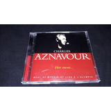 Cd Duplo Charles Aznavour   Best Studio   L olympia   Import