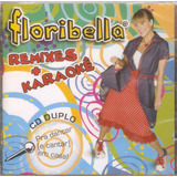 Cd Duplo Floribella   Remixes   Karaokê   Novo