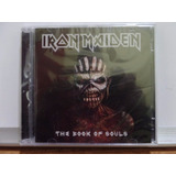 Cd Duplo Iron Maiden The Book Of Souls Novo Lacrado