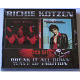 Cd Duplo Richie Kotzen   Break It All Down Wave Of Emotion