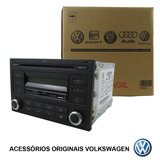 Cd E Mp3 Player   2 Din Original Vw 6qe 035 152 g Polo Golf