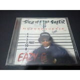 Cd Eazy Str8 Off Tha Streetz Of Muthaphu    In Compton