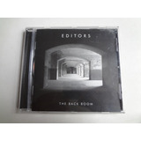Cd Editors The Back Room Cd Importado