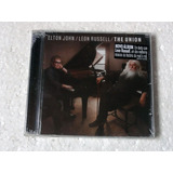 Cd Elton John   Leon Russell The Union  2010  Novo Lacrado