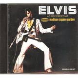 Cd Elvis Presley   As Recorded At Madison Square Garden