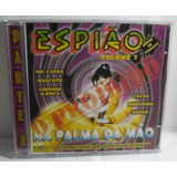 Cd Espião Shock De Monstro Vol 7 Novíssimo Rap Montagens