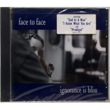 Cd Face To Face Ignorance Is Bliss 1999 Americano Lacrado